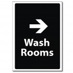 Wash Rooms Right - A5