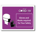 Gloves & Masks required - A4