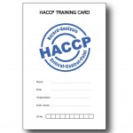 HACCP Training Card