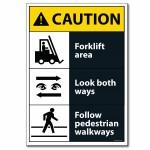 Caution - A4