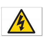 Electric Shock Logo - 5.85x5.85(inch)