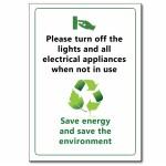 Save Energy (English) - A5