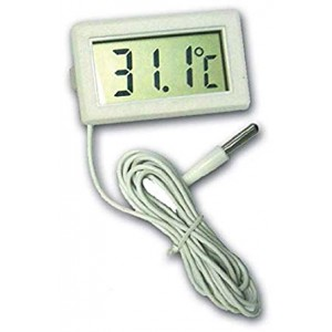 Digital LCD Thermometer with wire